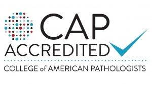 Color CAP Accreditation Logo