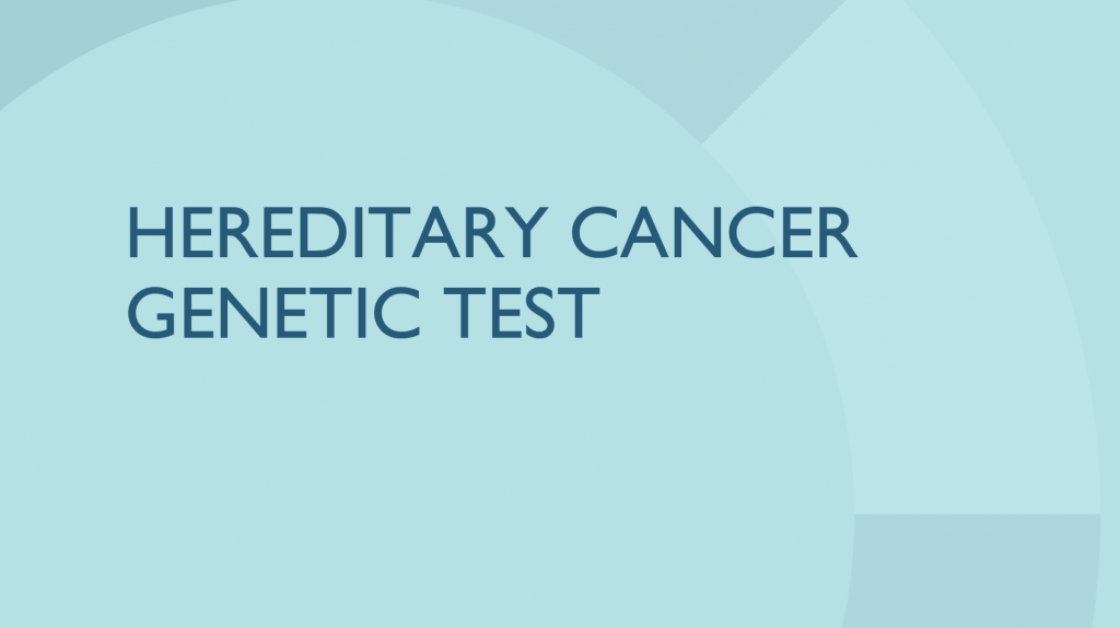 Color Hereditary Cancer Genetic Test